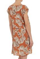 LO - Floral tunic dress Multi-colour