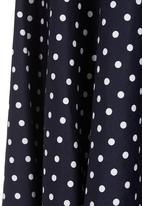 AMANDA LAIRD CHERRY - Polka dot midi skirt Multi-colour