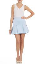 STYLE REPUBLIC - Flippy Skirt Blue (pale blue)