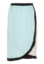 RUFF TUNG - Wrap Skirt Multi-Colour