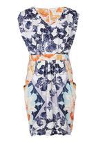 Coppelia - Floral Afternoon Tea Dress Multi-colour