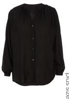 Megalo - Gypsy Shirt  Black