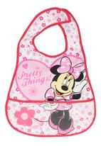 Character Baby - Minnie Mouse Catcher Bib Pink