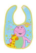 Character Baby - Barney Jersey Bib Multi-colour