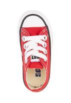 SOVIET - Vulcanized Low Cut Lace Up Red