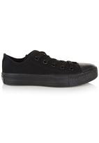 SOVIET - Low-Cut Lace-Up Shoes Black