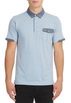 Jonathan D - Golf T-shirt Blue