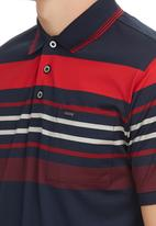 Jonathan D - Mercarized Golf T-shirt Red