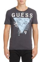 GUESS - Tiger Triangle T-shirt Grey