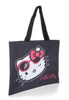 Zoom - Hello Kitty tote bag Black