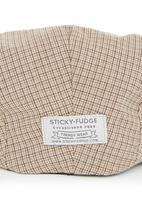 Sticky Fudge - Checked grandpa cap Neutral