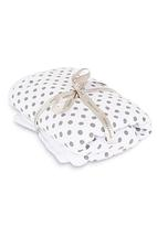 Sticky Fudge - Baby blanket White