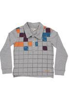Pringle of Scotland - Long-sleeved golfer shirt Grey