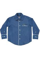 Pringle of Scotland - Long-sleeved shirt Blue