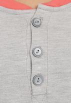 edge - Colourblock onesie Pale Grey