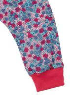 Petit Pois - Floral-print harem pants Multi-colour