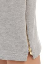 STYLE REPUBLIC - Biker pencil skirt Grey