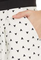 adam&eve; - High-waisted skirt Milk