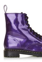 Foot Focus - Lace-up boots Dark purple