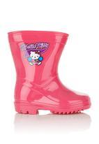 Sanrio-Hello Kitty - Hello Kitty wellington boots Pink (dark pink)