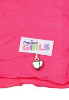 Precioux - Long-sleeve cardigan Mid pink