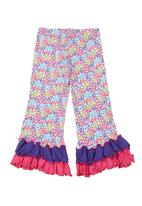 Precioux - Pants with butterfly-print Multi-colour