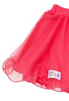 Precioux - Tutu skirt with heart detail Mid pink