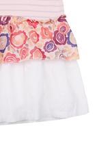Eco Punk - Printed dress Mid pink