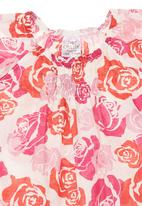 Just chillin - Printed Onesie Mid pink