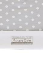 Poogy Bear - Printed beanie Grey