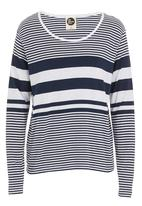All About Eve - Masters stiped tee Navy