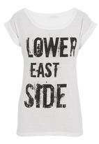 SASS - Lower east side tee White