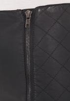 Traffic - Mini skirt Black