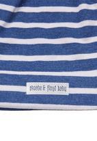 Phoebe & Floyd - Knot beanie set Mid blue