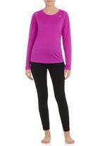 New Balance  - Accelerate Long-sleeve Top Purple