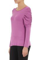 AMANDA LAIRD CHERRY - Fox top mid pink