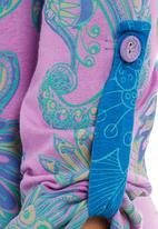 Maya Prass - Print-blocked long-sleeve top Multi-colour