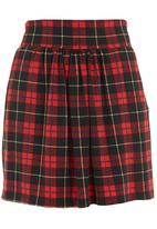 Coppelia - Soft-waisted skirt Red