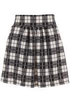 Coppelia - Soft-waisted skirt Black/White