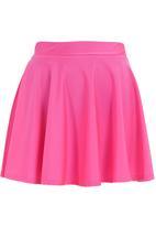 Glamorous - Disco skater skirt Pink