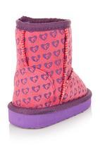 Sanrio Barbie - Barbie sherpa boots Pink