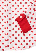 Pringle of Scotland - Blouse with polka dot print Red