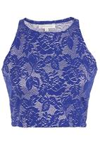 Glamorous - Knitted top Blue