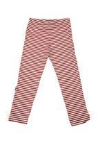 Phoebe & Floyd - Striped leggings Red