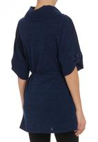 edit - Poloneck tunic Navy