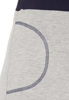 edge - Contrast maxi skirt Navy