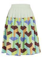 OTHELIA by KLûK CGDT - Party skirt Multi-colour
