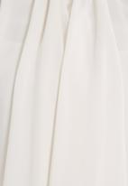 edit - Frilled blouse White