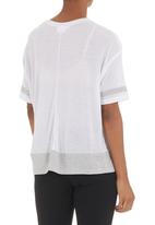 edge - Printed T-shirt Mid Grey
