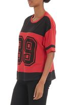 edge - Printed T-shirt Red
